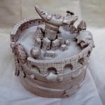 La città della luna, ceramic box