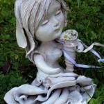 Boudoir doll, bambola in ceramica con sex toy
