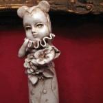 Il giardino interiore, scultura femminile