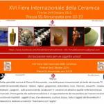 Selezione per la Fiera internazionale della ceramica Firenze