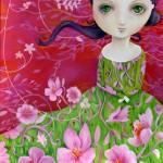 Spring girl, Primavera, illustrazione di copertina