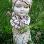 Angelica, ceramic sculpture