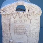 La chiromante, ceramic fortune teller