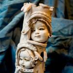 The kindom, il regno, scultura in ceramica