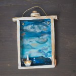 Il mare nel cassetto… scatola in ceramica da appendere,The sea in the drawer.