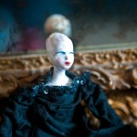Miss Delphine, ceramic art doll ooak. bambola articolata