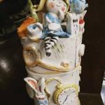 Biscottiera Alice nel paese delle meraviglie. Cookies jar