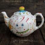 la teiera del Bianconiglio, rabbit tea pot