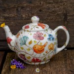 la teiera del pettirosso, handmade teapot